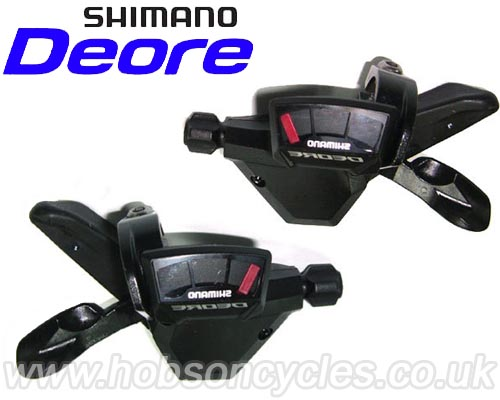Shimano_Deore M590 9 Speed Shifter Set Hobson Cycles Liverpool 2014